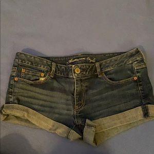 American eagle jean shorts, size 14